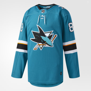 Sharks Burns Home Authentic Pro Jersey