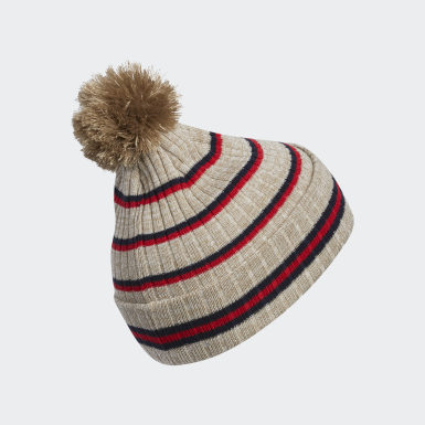 Originals Brown 90s Stripes Beanie
