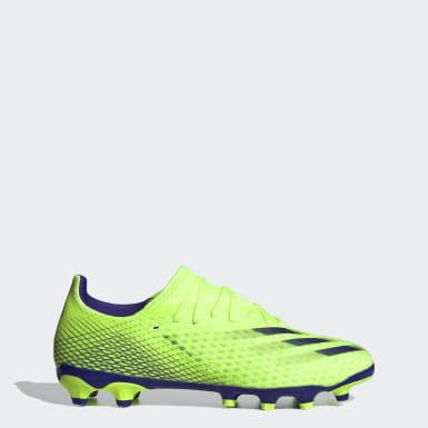 Bota de fútbol X Ghosted.3 multisuperficie Verde Fútbol
