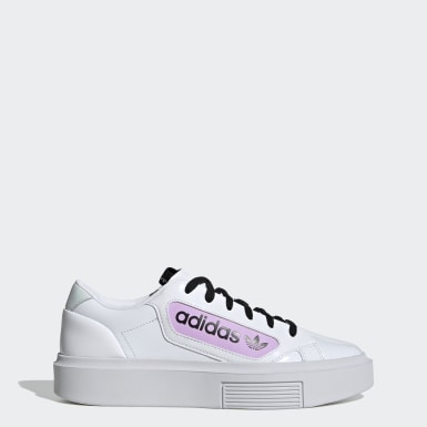 Dam Originals Vit adidas Sleek Super Shoes