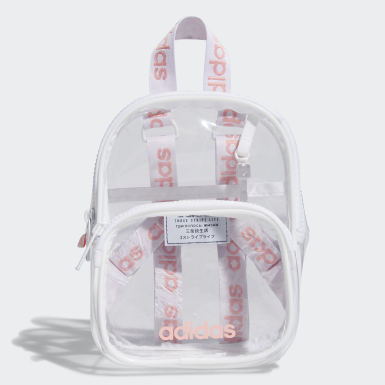 Essentials White Clear Mini Backpack