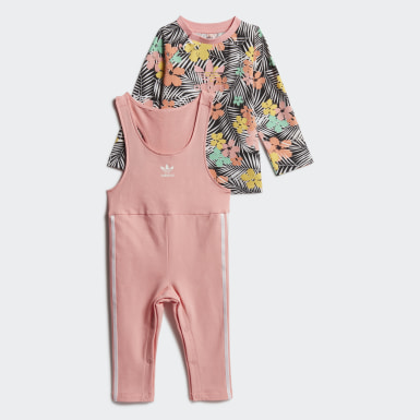 Girls Originals Sort Jumpsuit sæt