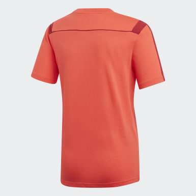 Youth 8-16 Years Football Red FC Bayern T-Shirt