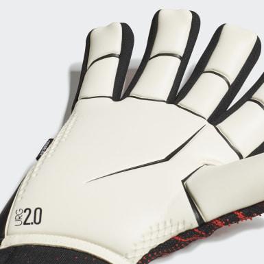Football Black Predator 20 Pro Fingersave Goalkeeper Gloves