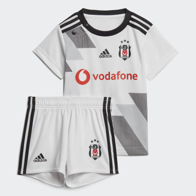 Infant Football White Beşiktaş JK Home Baby Kit