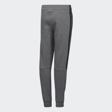 Youth Training Grey Core Badge Joggers