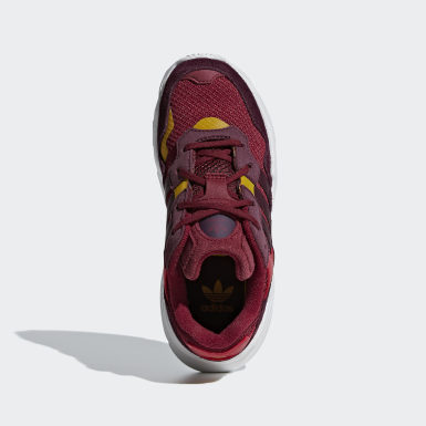 Children Originals Burgundy Yung-96 Shoes