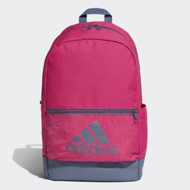 Træning Pink Classic Badge of Sport rygsæk