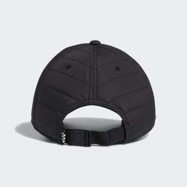 Men Originals Black Quilted Relaxed Hat