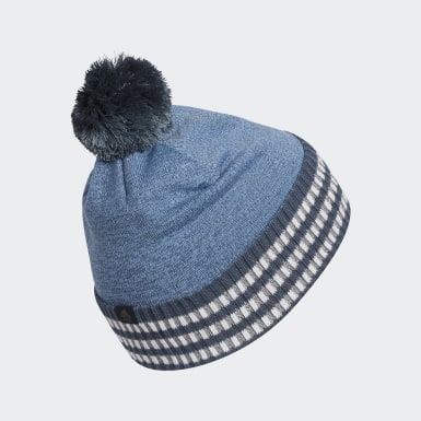 Men Golf Blue Golf Statement Beanie