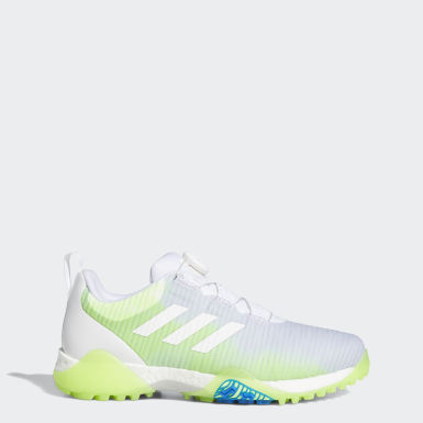 Men Golf White CodeChaos Boa Low Golf Shoes