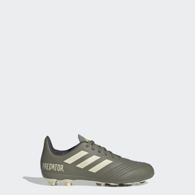 Boys Football Green Predator 19.4 Flexible Ground Boots