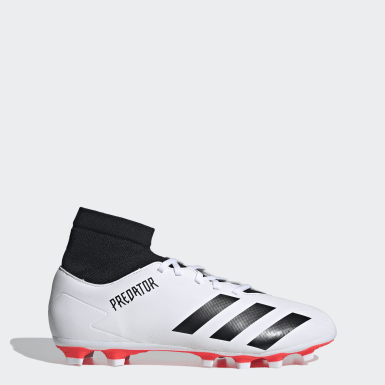 Men Football White Predator 20.4 Flexible Ground Boots