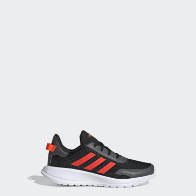 Chaussure Tensor Run noir Enfants Course