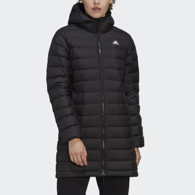Women City Outdoor Black Todown Down Coat