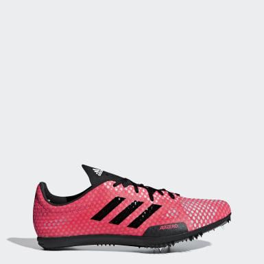 розовый Шиповки для легкой атлетики adizero ambition 4 w