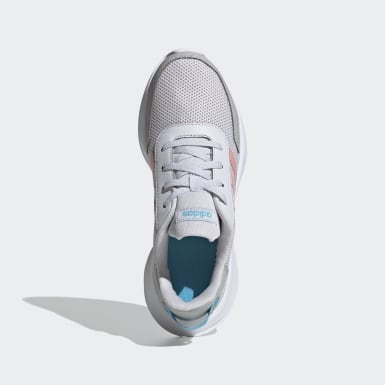 Children Running Grey Tensor Shoes