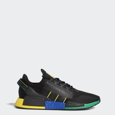 Men Originals Black NMD_R1 V2 Rio De Janeiro Shoes