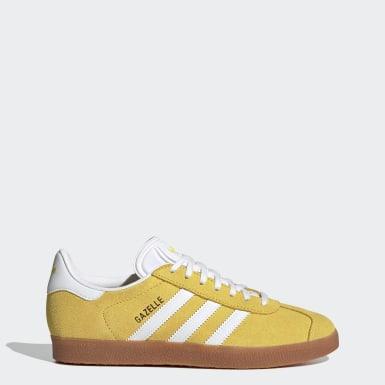 Dames Originals Geel Gazelle Schoenen