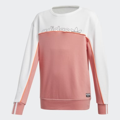 Boys Originals Pink Crew sweatshirt