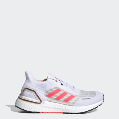 Women Running White Ultraboost SUMMER.RDY Shoes