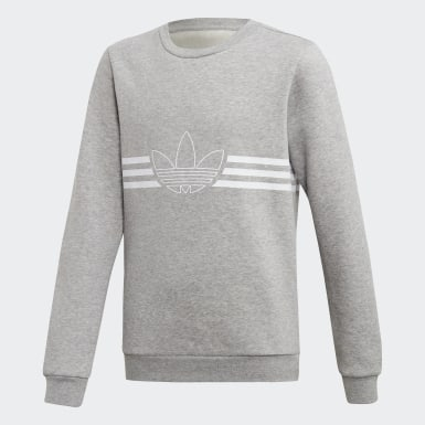 Sweat-shirt Outline Crew