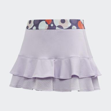 фиолетовый Юбка для тенниса Frill