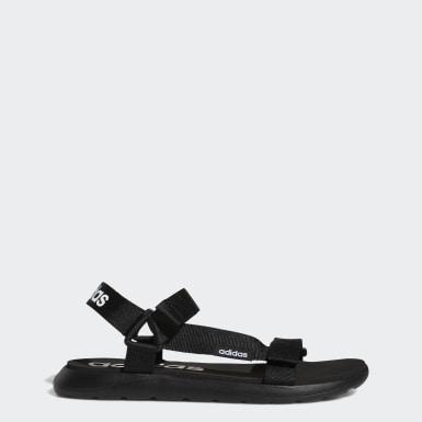 Sandali Comfort Nero Nuoto