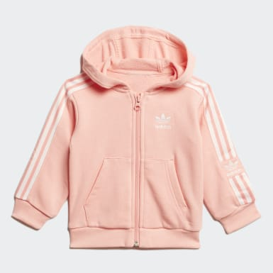 Ensemble Hoodie Rose Enfants Originals