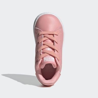 Kinderen Originals Roze Stan Smith Schoenen