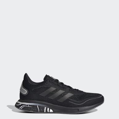 ผู้หญิง วิ่ง สีดำ รองเท้า Supernova Glam Pack