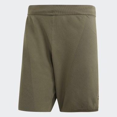 Shorts 4KRFT 360 Primeknit LUX 8 Pulgadas Verde Hombre Training