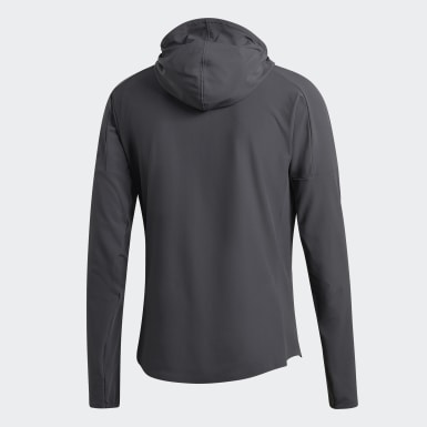 Men Running Grey adidas Z.N.E. Run Jacket