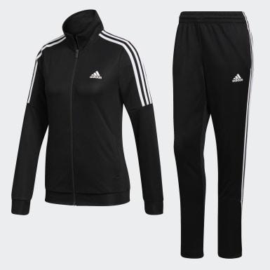 Women Athletics Black Tiro Track Suit