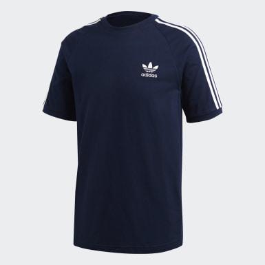 синий Футболка 3-Stripes
