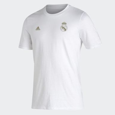 T-shirt Real Madrid blanc Hommes Soccer