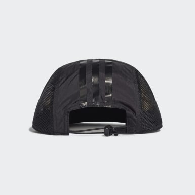 Gorra Power Cinco Paneles Negro Training