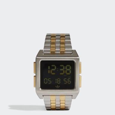 Zegarek ARCHIVE_M1 Srebrny