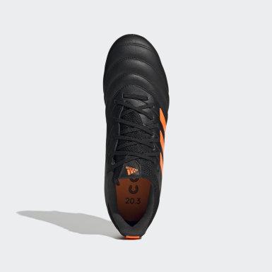ผู้ชาย ฟุตบอล สีดำ รองเท้าฟุตบอล Copa 20.3 Firm Ground