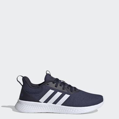 Sapatos Puremotion Azul Homem Running