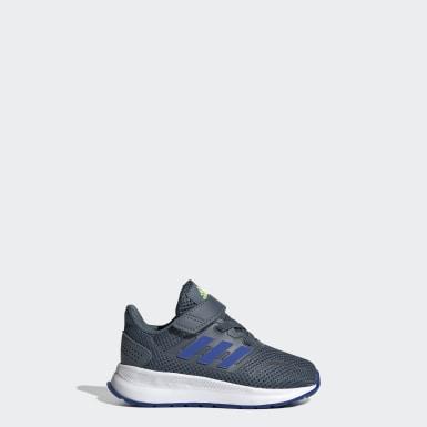 Tenis Falcon Run (UNISEX) Azul Niño Running