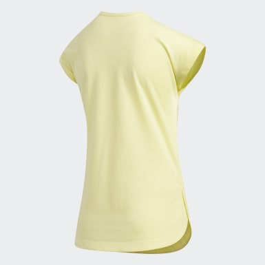 Youth Training Yellow Graphic Tee