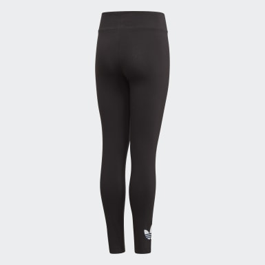 Youth 8-16 Years Originals Black Adicolor Leggings