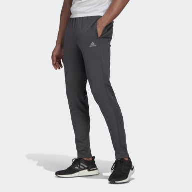 Men Running Grey Own the Run Astro Joggers