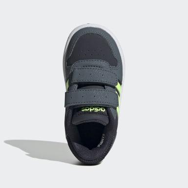 Sapatos Hoops 2.0 Azul Criança Basquetebol