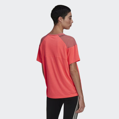 Camiseta Unleash Confidence Rosa Mujer Running