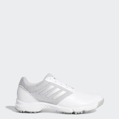 Women Golf White Tech Response Shoes