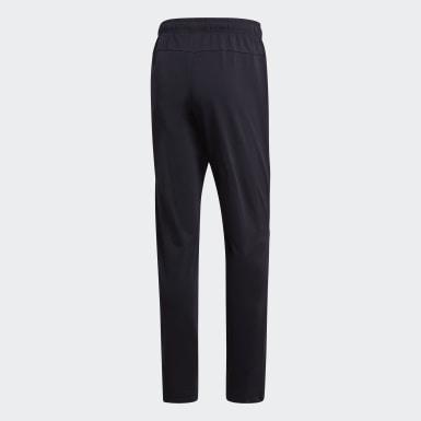 Pantalón Cónico Essentials Plain Negro Hombre Training