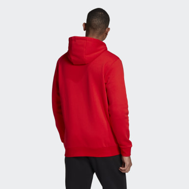 Men Originals Red SPRT Icon Full-Zip Hoodie