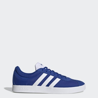 Men Skateboarding Blue VL Court 2.0 Shoes